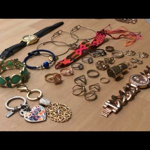 Jewelry - Rings, bracelets &key chains